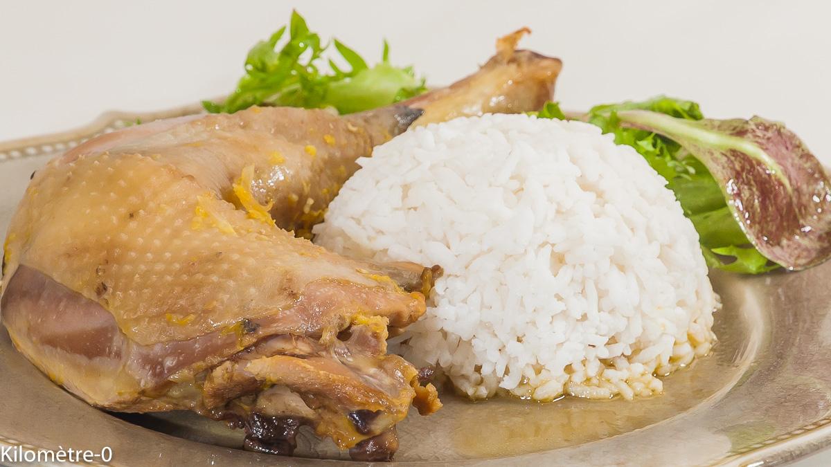 Photo de recette de poulet cubain, Cuba, cuisine du monde, facile, riz, marinade, orange de Kilomètre-0, blog de cuisine réalisée à partir de produits de saison et issus de circuits courts