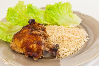 Photo de recette de Jerk chicken (recette jamaïquaine), poulet, Jamaïque, marinade, facile, bio de Kilomètre-0, blog de cuisine réalisée à partir de produits de saison et issus de circuits courts
