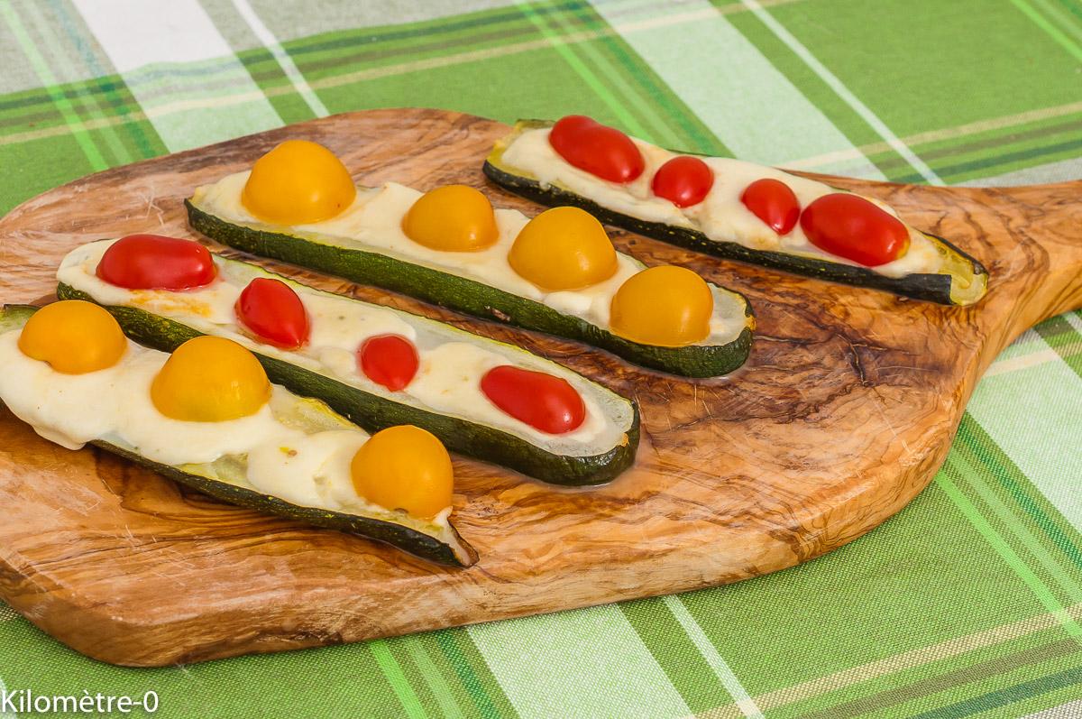 Photo de recette de courgette, tomates cerise, apéro, facile, végétarien, healthy, bio, facile, été, légumes, Kilomètre-0, blog de cuisine réalisée à partir de produits de saison et issus de circuits courts