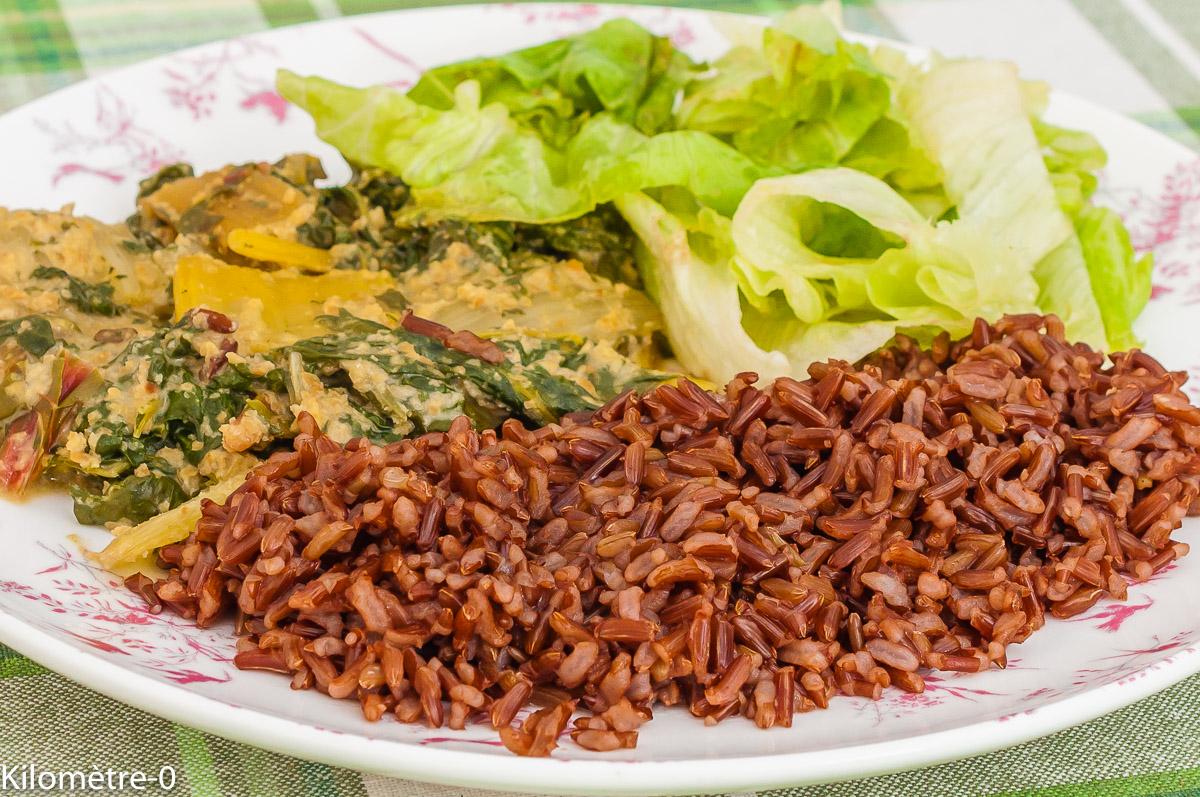 Photo de recette africaine, Nigéria,  de brèdes sauce arachide, beurre de cacahuètes maison de de Kilomètre-0, blog de cuisine réalisée à partir de produits de saison et issus de circuits courts
