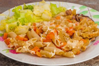 Photo de recette de il rosto, plat Gibraltar, gratin de pâtes facile, healthy, végétarien, bio,  Kilomètre-0, blog de cuisine réalisée à partir de produits de saison et issus de circuits courts