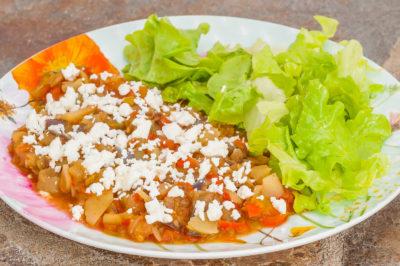 Photo de recette de Poêlée de légumes du Turkménistan (batyrma), végétarienne, heahthy, facile, légumes, été, Kilomètre-0, blog de cuisine réalisée à partir de produits de saison et issus de circuits courts