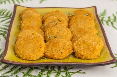 Photo de recette de sablés au parmesan, facile, biscuits, apéro, rapide, Kilomètre-0, blog de cuisine réalisée à partir de produits de saison et issus de circuits courts