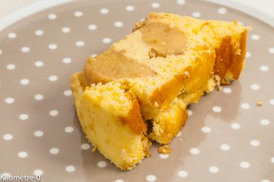 Photo de recette de Terrine de pommes au fromage blanc, dessert, mousse, épices, facile, rapide, bio de Kilomètre-0, blog de cuisine réalisée à partir de produits de saison et issus de circuits courts