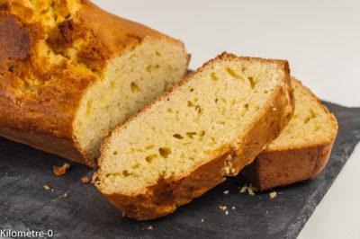 Photo de recette de cake, gâteau facile, rapide, gâteau du matin, économique, léger, healthy, bio de Kilomètre-0, blog de cuisine réalisée à partir de produits de saison et issus de circuits courts