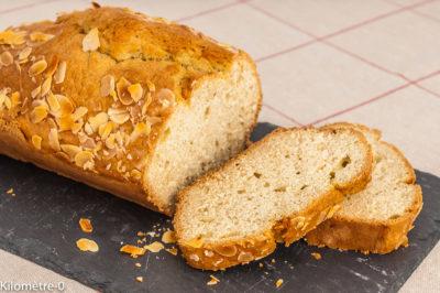 Photo de recette de cake, gâteau du matin à la vanille, facile, amande, bio, healthy, dessert, ilomètre-0, blog de cuisine réalisée à partir de produits de saison et issus de circuits courts