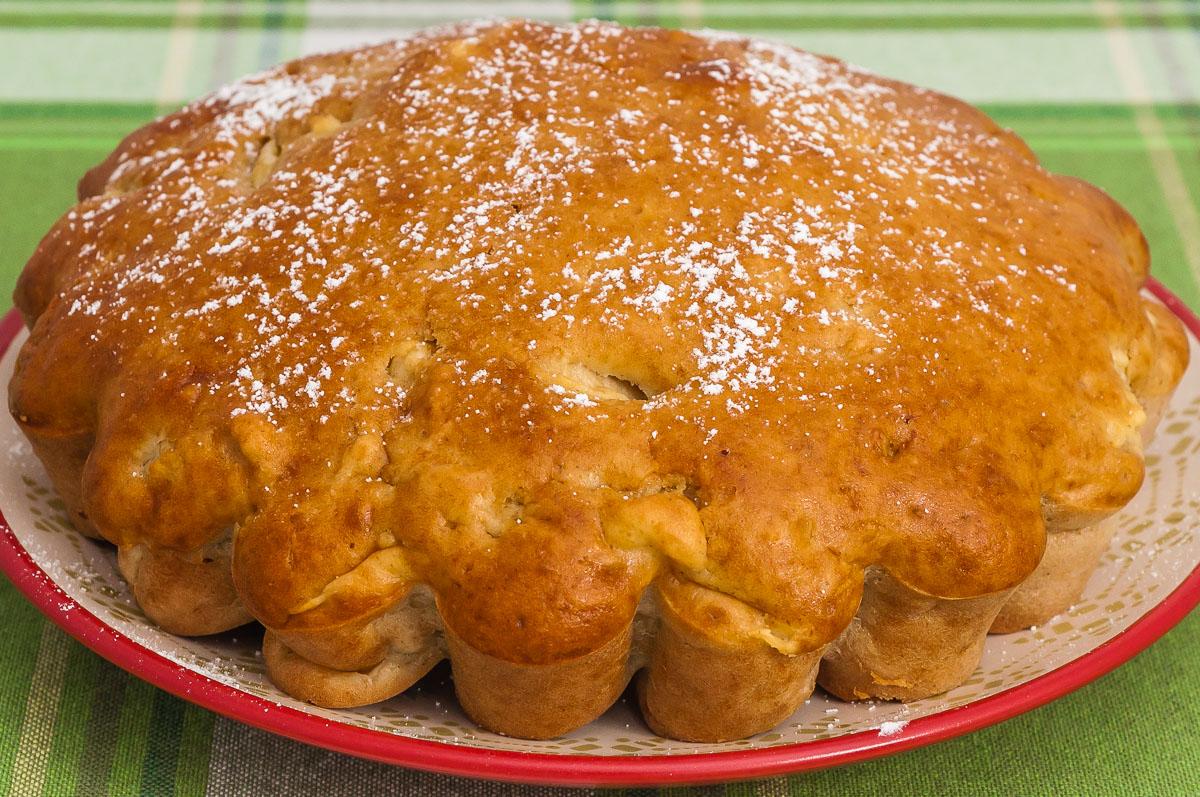 Photo de recette de gâteau facile aux pommes, rapide, fruits, automne, hiver, bio, rapide, crème fraiche, Kilomètre-0, blog de cuisine réalisée à partir de produits de saison et issus de circuits courts