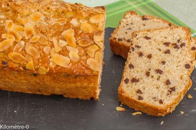 Photo de recette de gâteau du matin, citron, chocolat, amandes, bio, facile, healthy, rapide, léger de Kilomètre-0, blog de cuisine réalisée à partir de produits de saison et issus de circuits courts