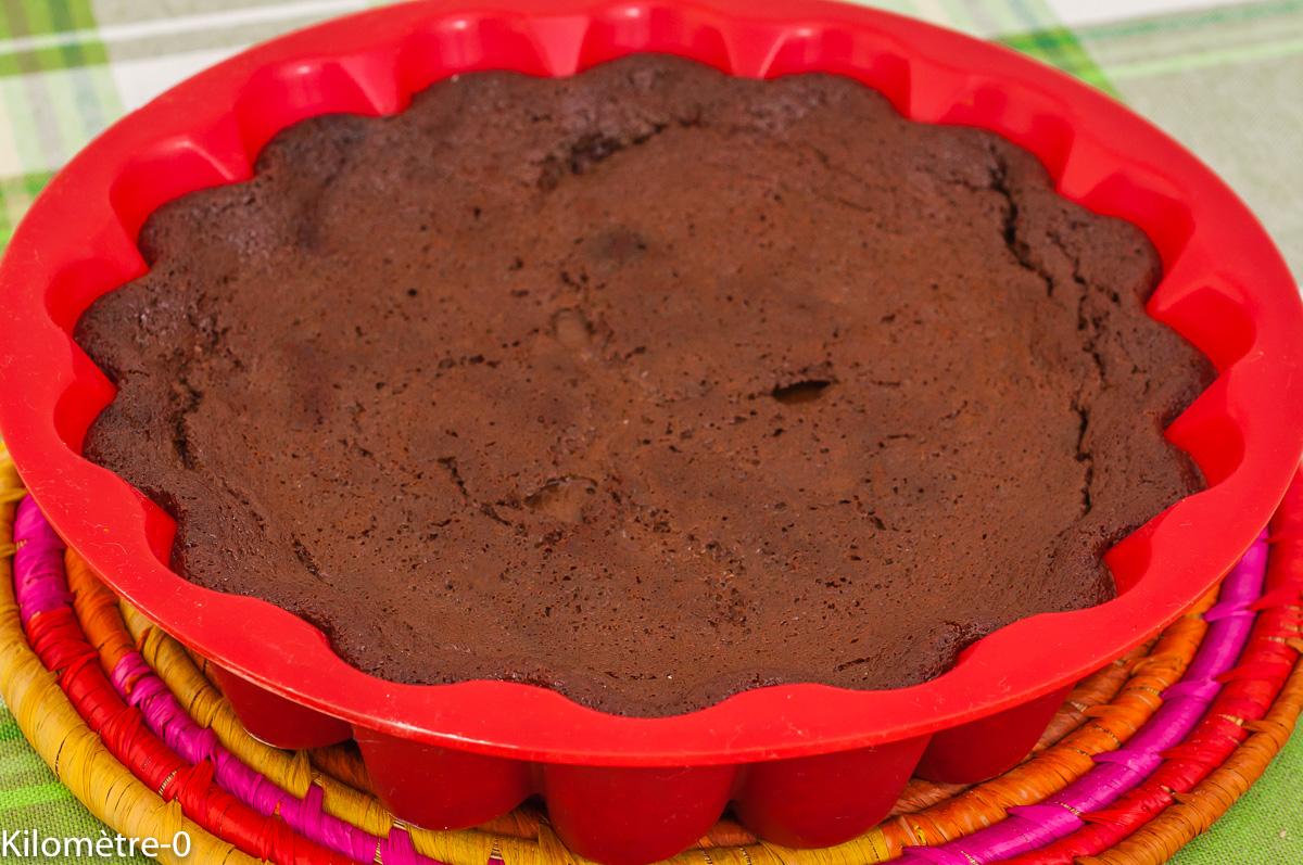 Photo de recette de  gâteau, acqua faba, jus de pois chiche, dessert,facile, économique, chocolat,  Kilomètre-0, blog de cuisine réalisée à partir de produits de saison et issus de circuits courts