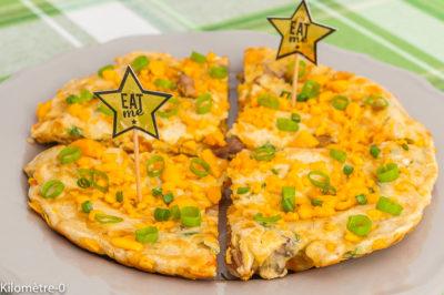 Photo de recette de gâteau, apéro, fromage, cuisson à la poêl, sans four, facile, rapide, healthy, bio de Kilomètre-0, blog de cuisine réalisée à partir de produits de saison et issus de circuits courts