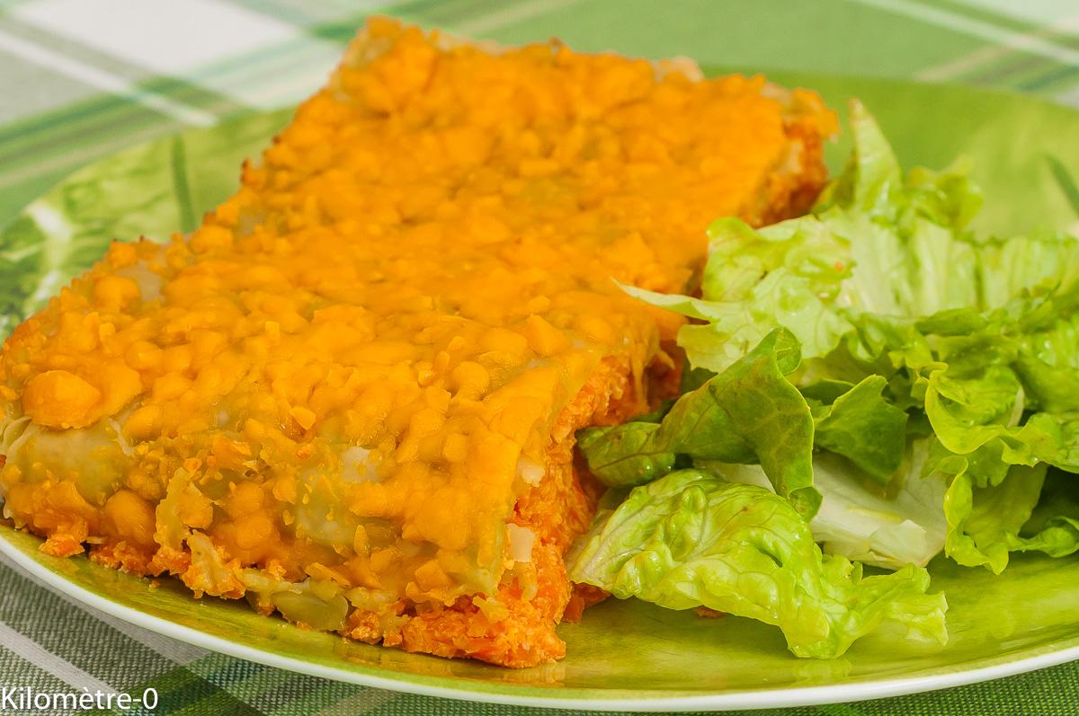 Photo de recette de ravioles, gratin, lasagnes, carotte, végétarienne, healthy, de Kilomètre-0, blog de cuisine réalisée à partir de produits de saison et issus de circuits courts