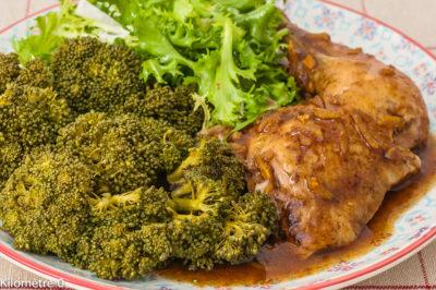 Photo de recette de Guinée équatoriale, africaine, cuisine du monde, plat, poulet, cinq, épices, facile, légumes, léger, gingembre, sauce soja de  Kilomètre-0, blog de cuisine réalisée à partir de produits de saison et issus de circuits courts