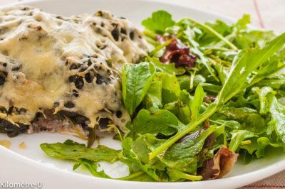 Photo de recette de gratin de sardines, pomme de terre, épinards, fromage, facile, Kilomètre-0, blog de cuisine réalisée à partir de produits de saison et issus de circuits courts