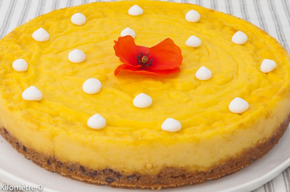 Photo de recette de flankie, flan, gros cookie, laitage, gâteau, dessert, bio, Kilomètre-0, blog de cuisine réalisée à partir de produits de saison et issus de circuits courts