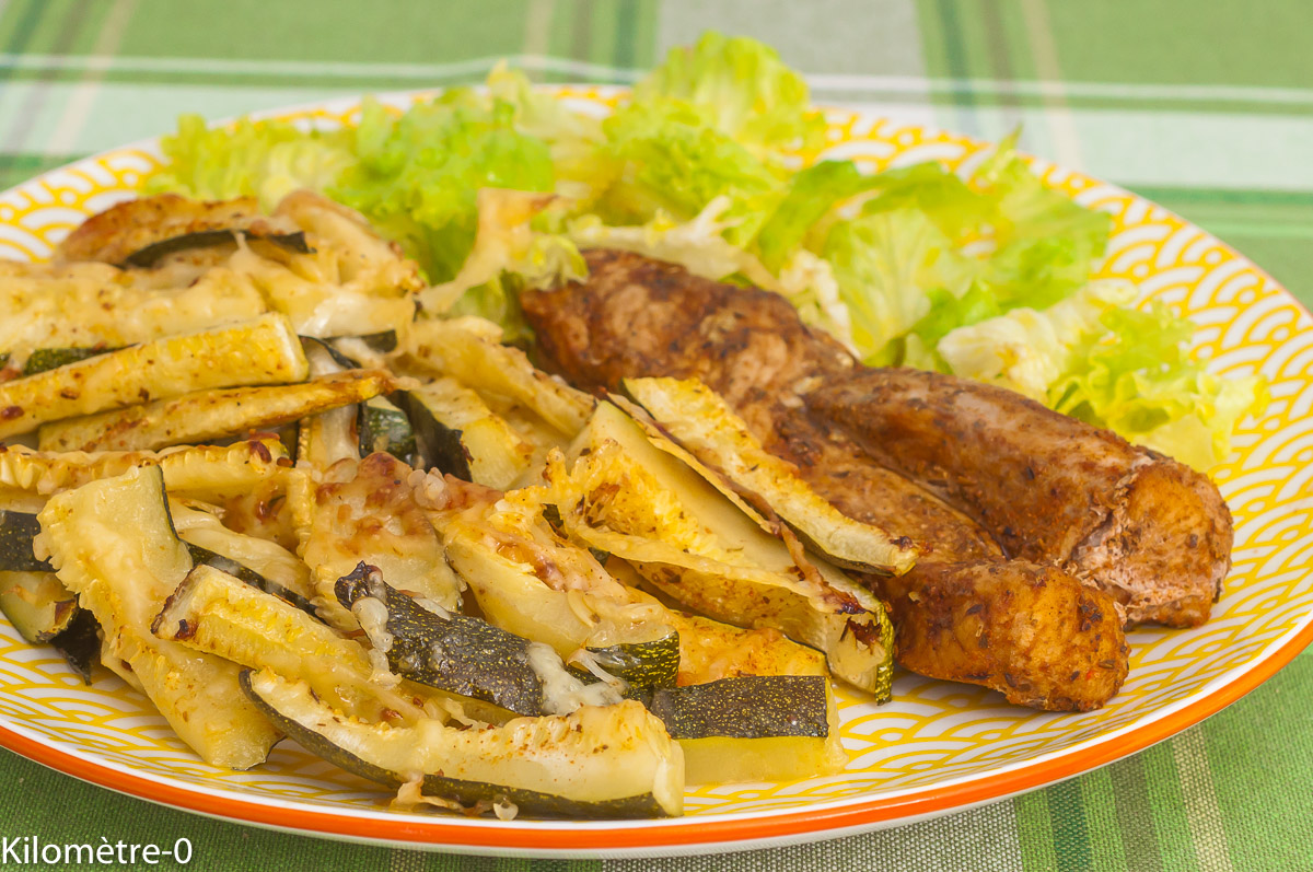 Photo de recette de  grillades, légumes, été, courgettes, frites, frites de courgettes, facile, bio, rapide, Kilomètre-0, blog de cuisine réalisée à partir de produits de saison et issus de circuits courts