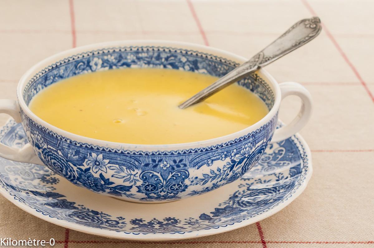 Photo de recette de crème anglaise, inratable, facile, rapide, bio,  Kilomètre-0, blog de cuisine réalisée à partir de produits de saison et issus de circuits courts